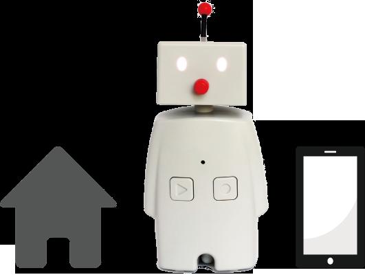 心の状態を把握出来る小さなロボット「絆 BOCCO」