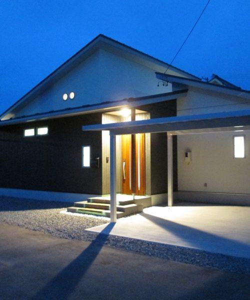 No.24:佐久市塩名田に佇む家