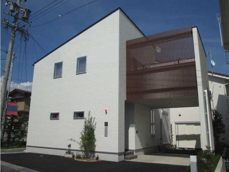 The stylish garage house