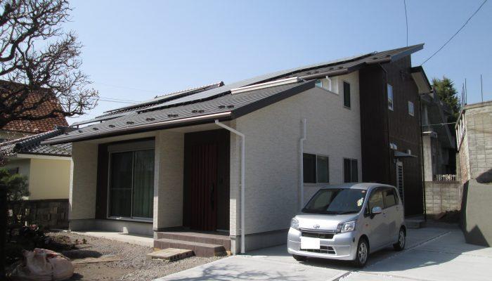 No.34 : 小諸市 赤坂 に佇む家